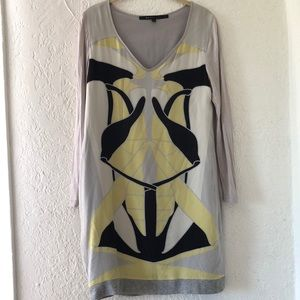 Marc Jacobs Rorschach Shift Dress